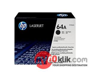 64A Black Original LaserJet Toner Cartridge [CC364A]